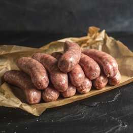 Pork sausages (gluten free)