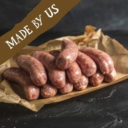 12 x Pork sausages (gluten free) 800g