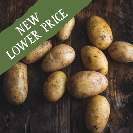 New potatoes 500g