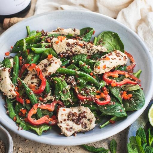 Green Thai Chicken Salad
