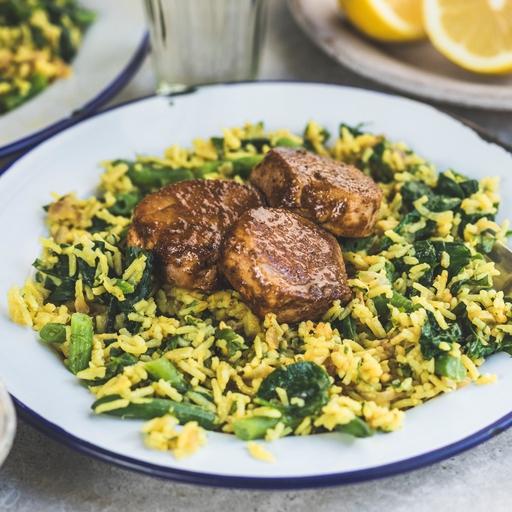 Tikka Pork & Lemon Rice