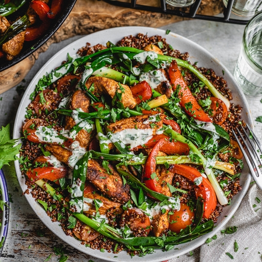 Middle Eastern Chicken & Herby Tahini