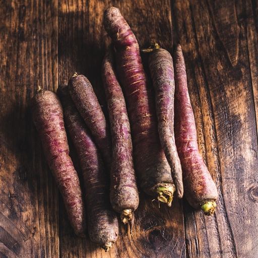 Purple carrots 700g