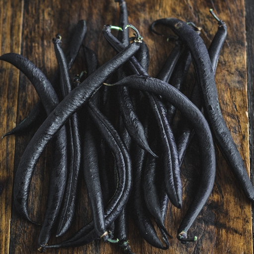 Purple French beans 300g