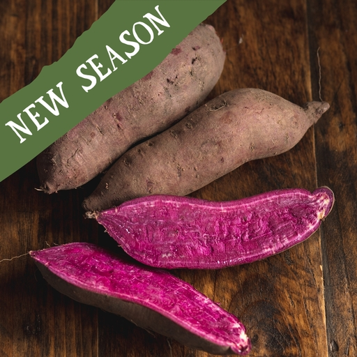 Purple sweet potatoes 600g