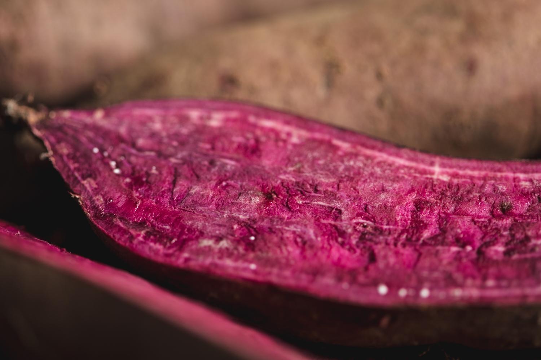 Purple sweet potatoes