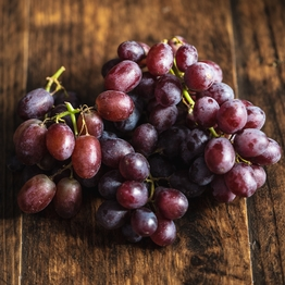 Red seedless grapes 350g