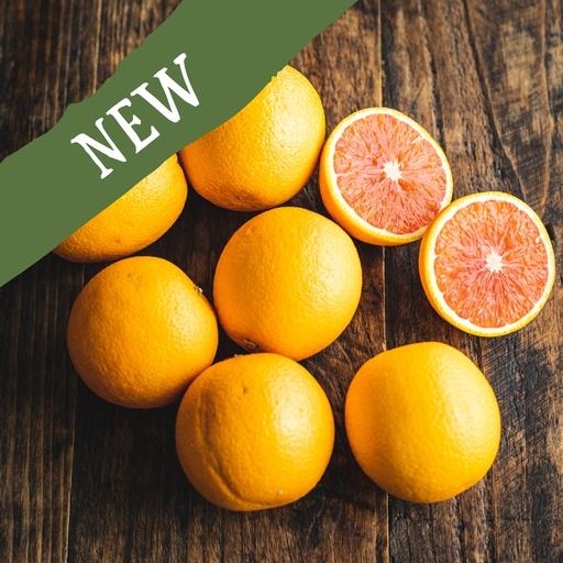 Ruby Valencia oranges 1kg