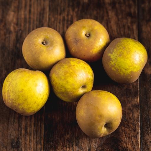 Russet apples 750g