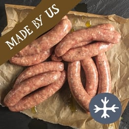 12 x Pork chipolata sausages 400g