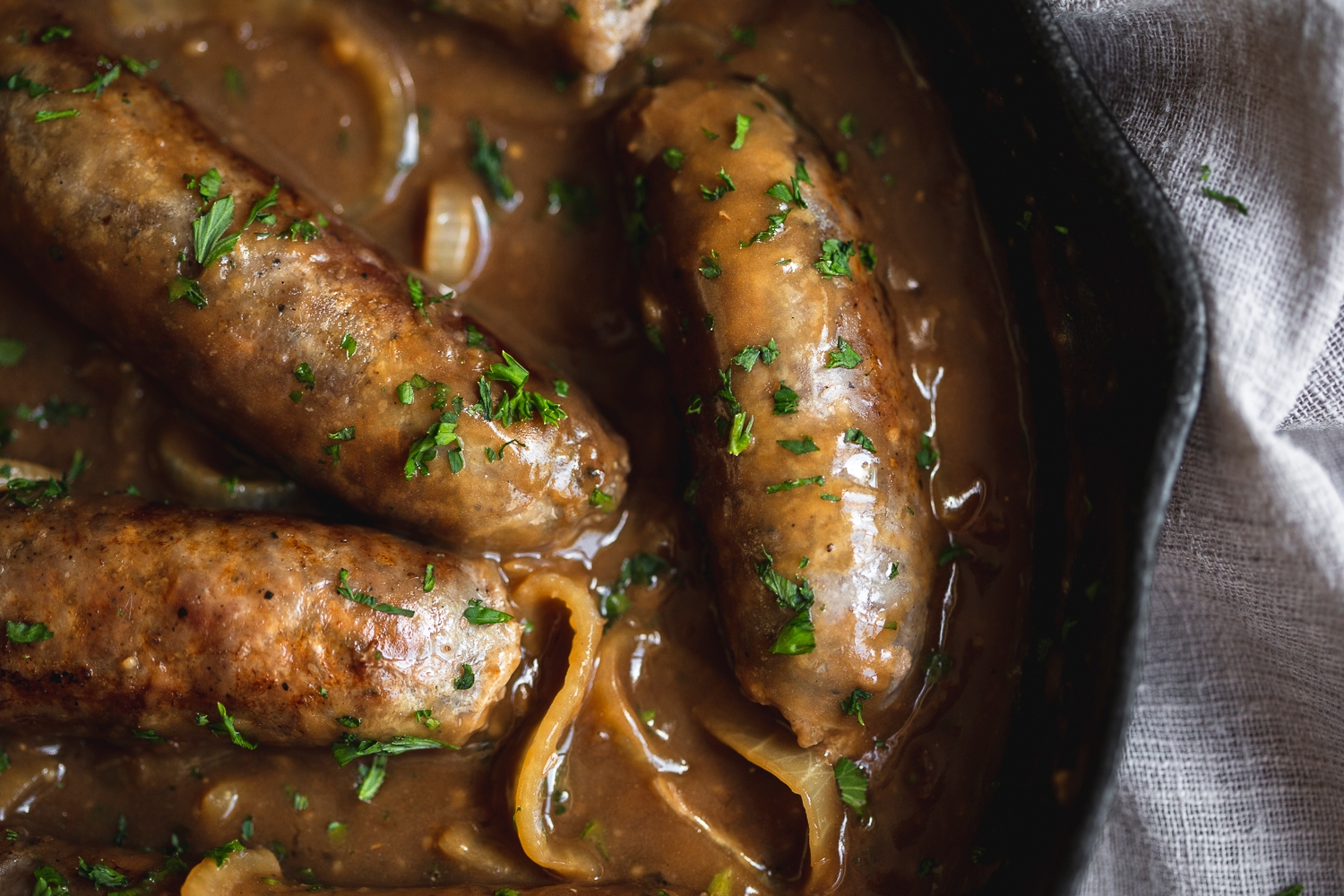 Pork & apple sausages (gluten free)