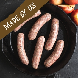 6 x Pork & apple sausages (gluten free) 400g