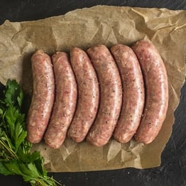 Pork & herb sausages