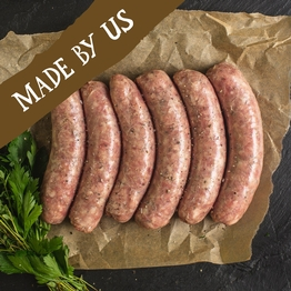 6 x Pork & herb sausages 400g