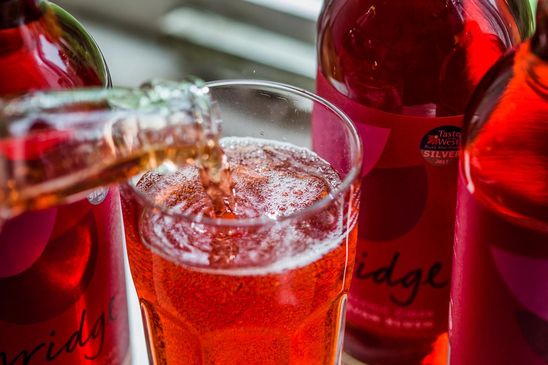 Ashridge devon blush cider