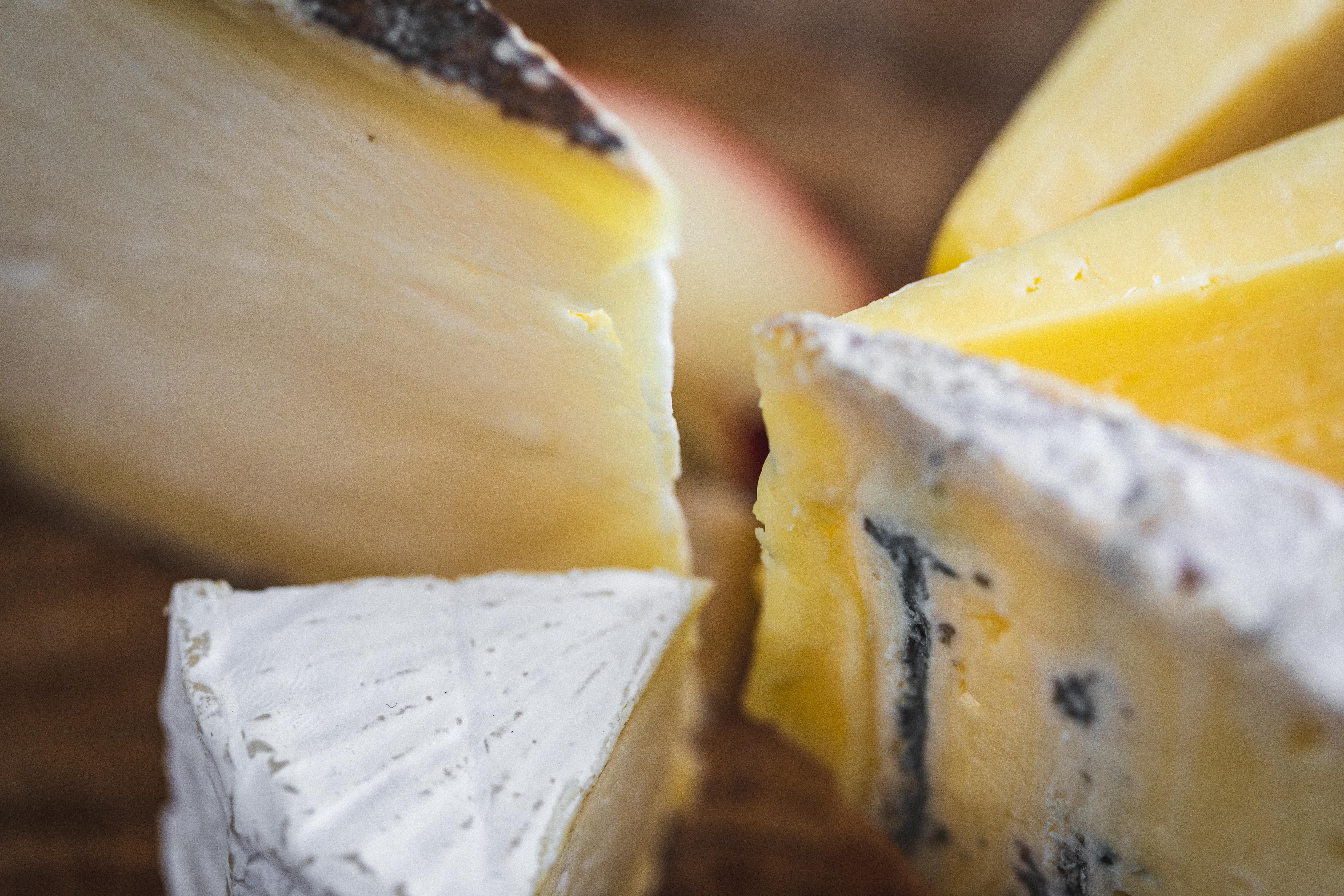 British cheese box