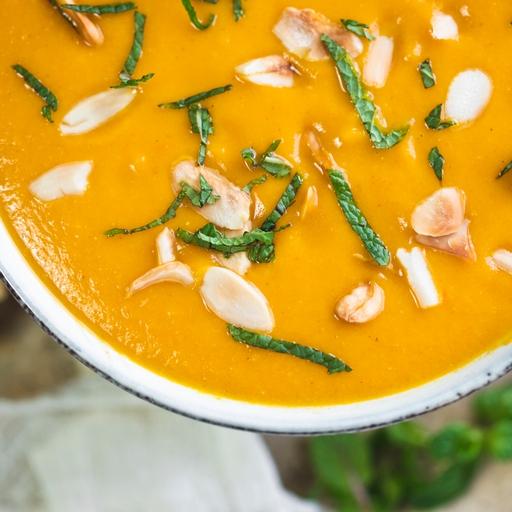 Turkish Carrot & Lentil soup