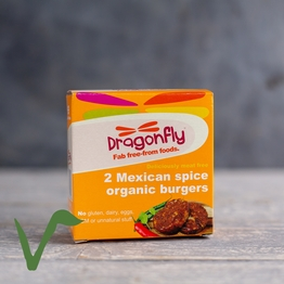 Mexican spice burger 2x100g