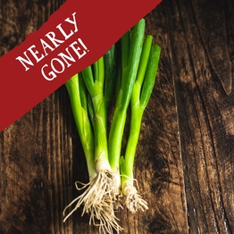 Spring onions 125g