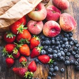 Summer fruit bag