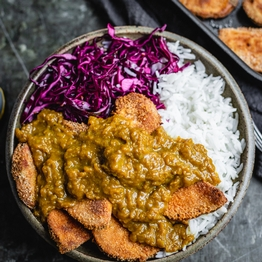 Sweet Potato Katsu Curry
