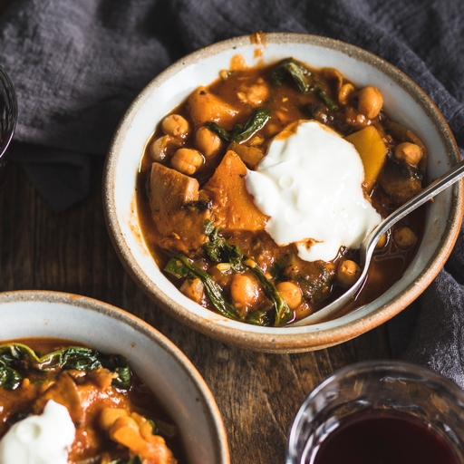 Squash & Portobello One-pot Goulash