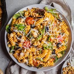 Sheep's Cheese & Tomato Pasta