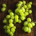 White seedless grapes 350g