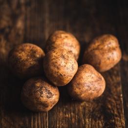 White potatoes 750g