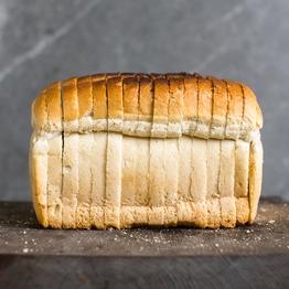 White bread, sliced