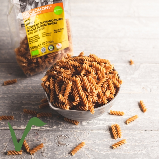 Girolomoni whole-wheat fusilli pasta 500g