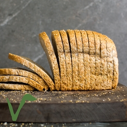 Wholegrain bread, sliced 800g