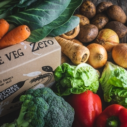 Zero packaging organic veg box