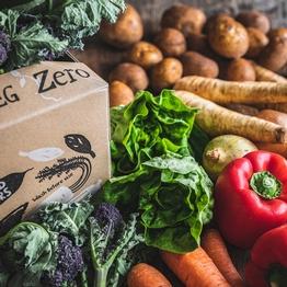 Zero packaging organic veg box